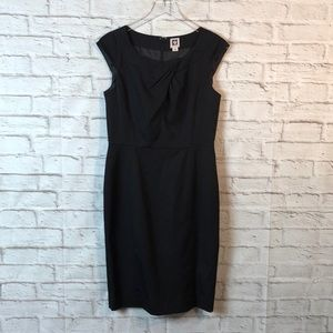 ANNE KLEIN Career Work Dress Little Black